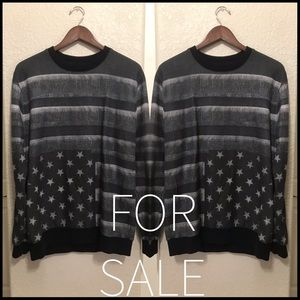 Givenchy American flag sweater
